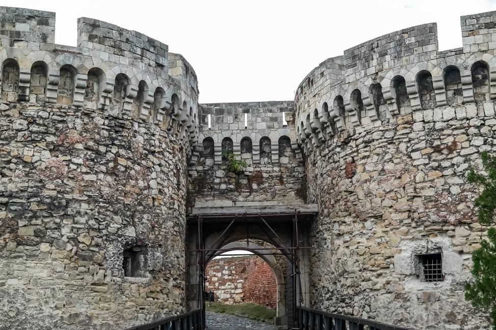 belgrade serbia castle