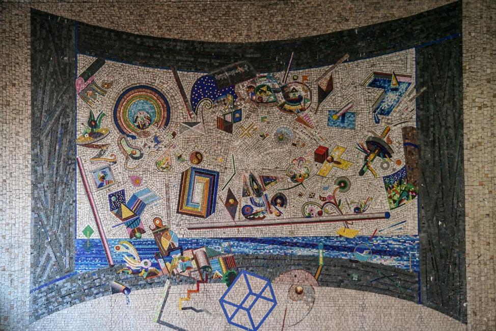 belgrade street art: underground