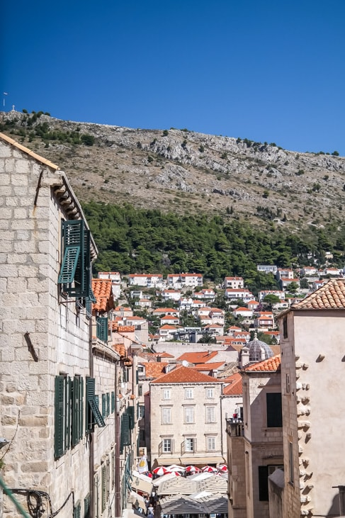 Dubrovnik Game of Thrones Tour: the stairs that Cersei descends during the walk of shame