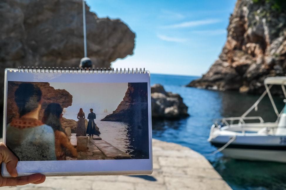 Dubrovnik Game of Thrones Tour: a scene from King's Landing docks