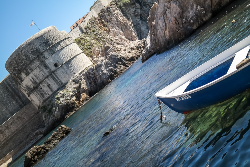 Dubrovnik Game of Thrones Tour: the view from the Docks of King's Landing