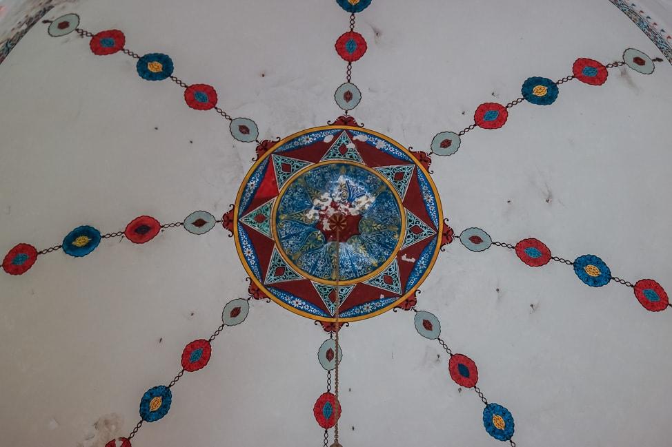 visit bosnia mosque interior