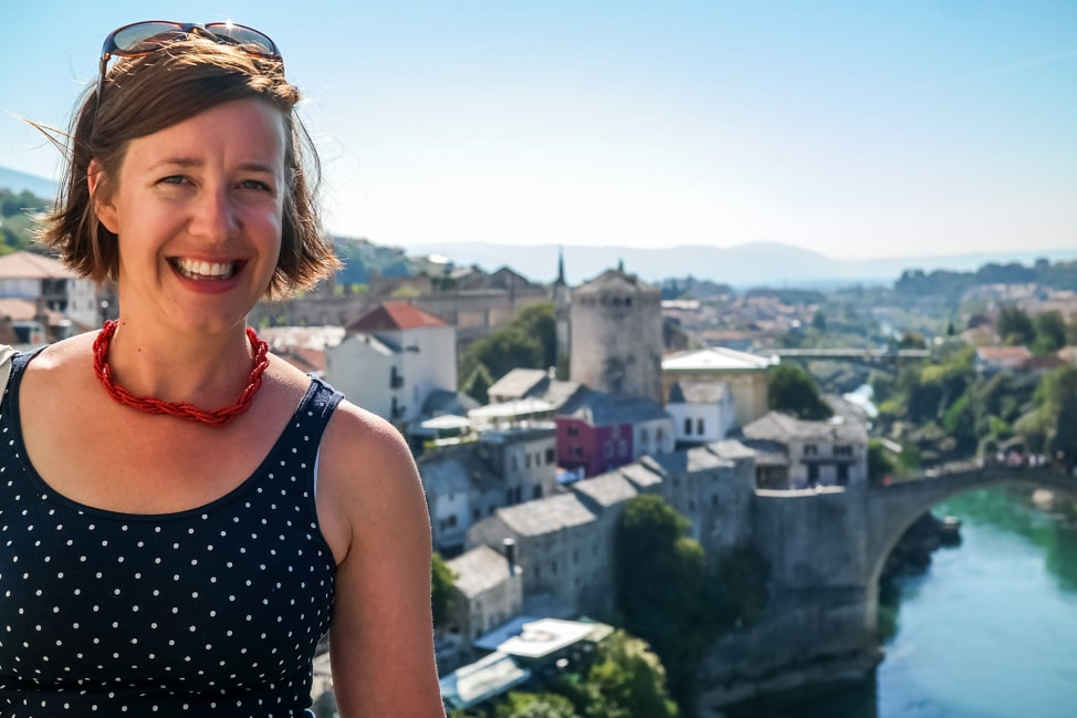 visit bosnia julie minaret