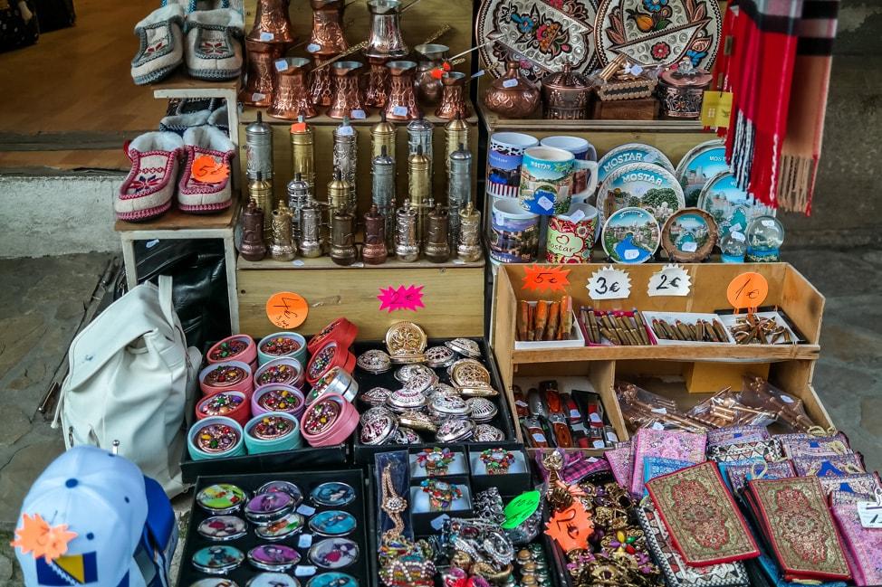 visit bosnia shopping