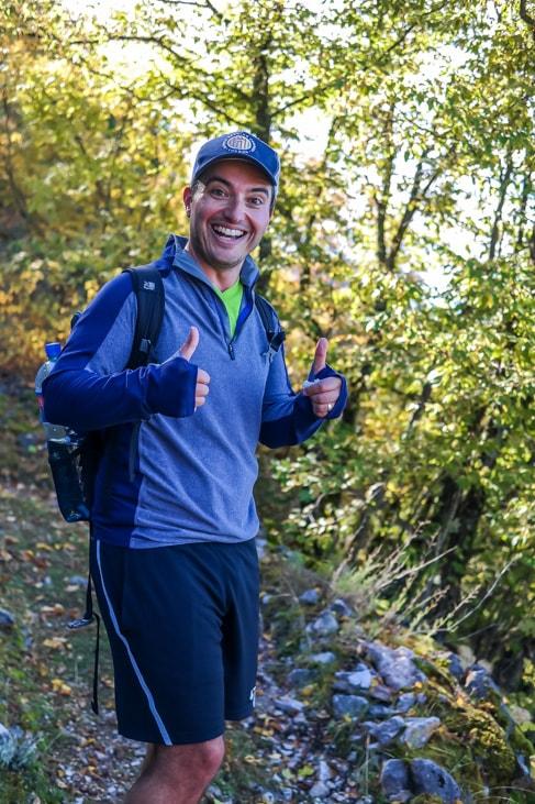 balkans road trip drew hike