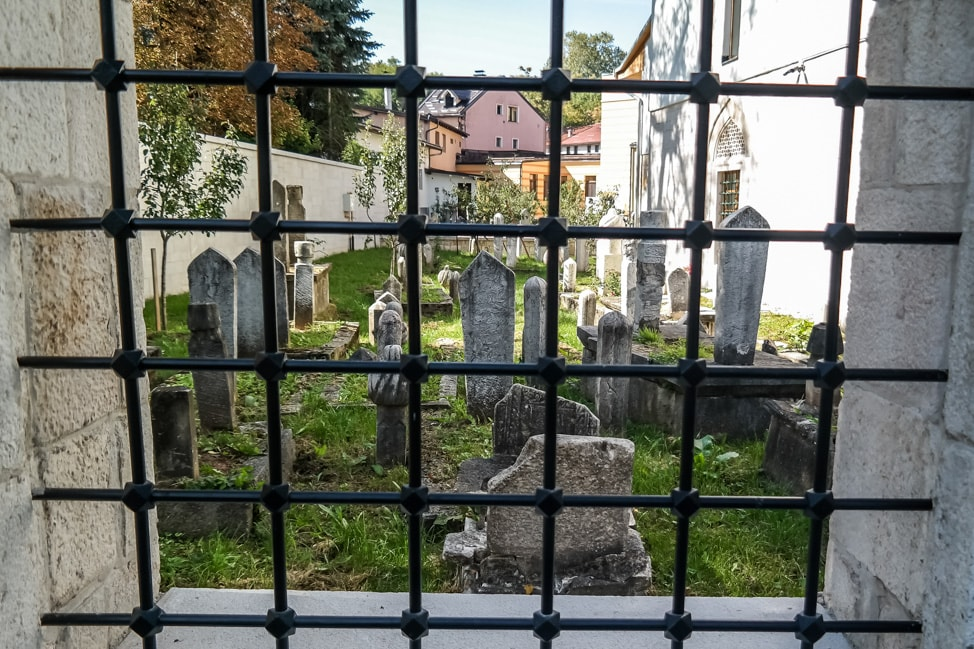 Sarajevo Bosnia: cemetery