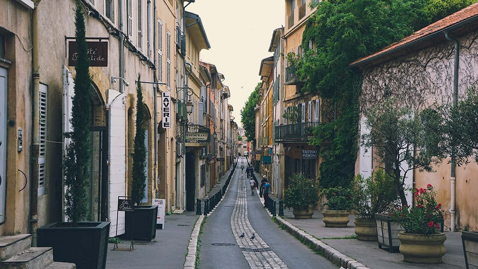 southern france road trip aix