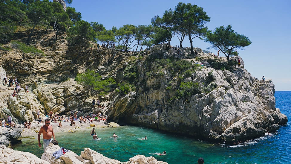 southern france road trip calanque