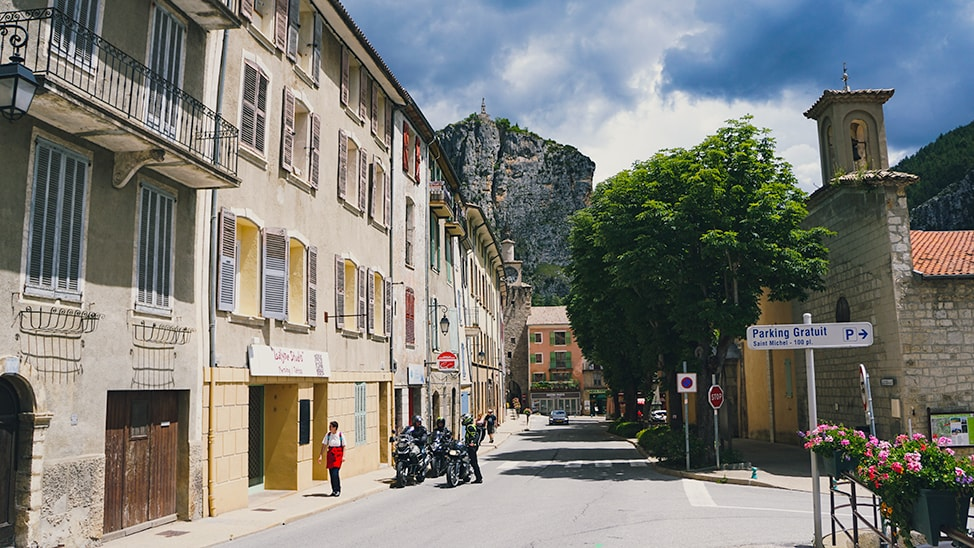 southern france road trip castellane