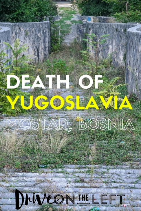 The Death of Yugoslavia tour in Mostar, Bosnia costs €15/pp and runs almost daily, but you can contact them directly at iHouse Travel. We discovered the ...