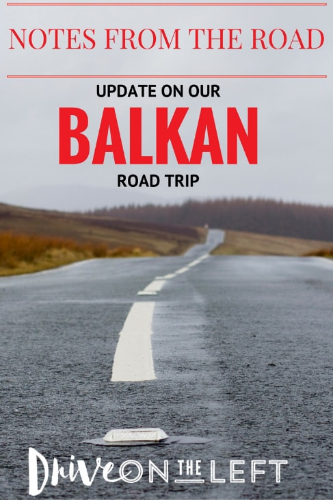 balkan road trip pin