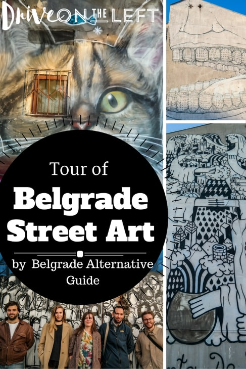 belgrade street art pin