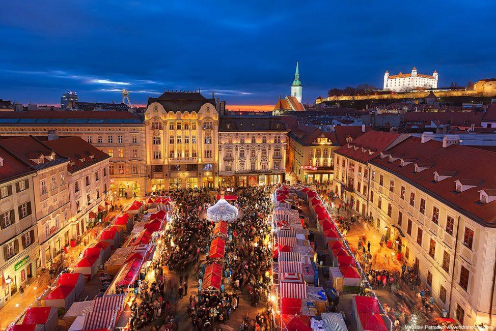 Best European Christmas Markets: Bratislava