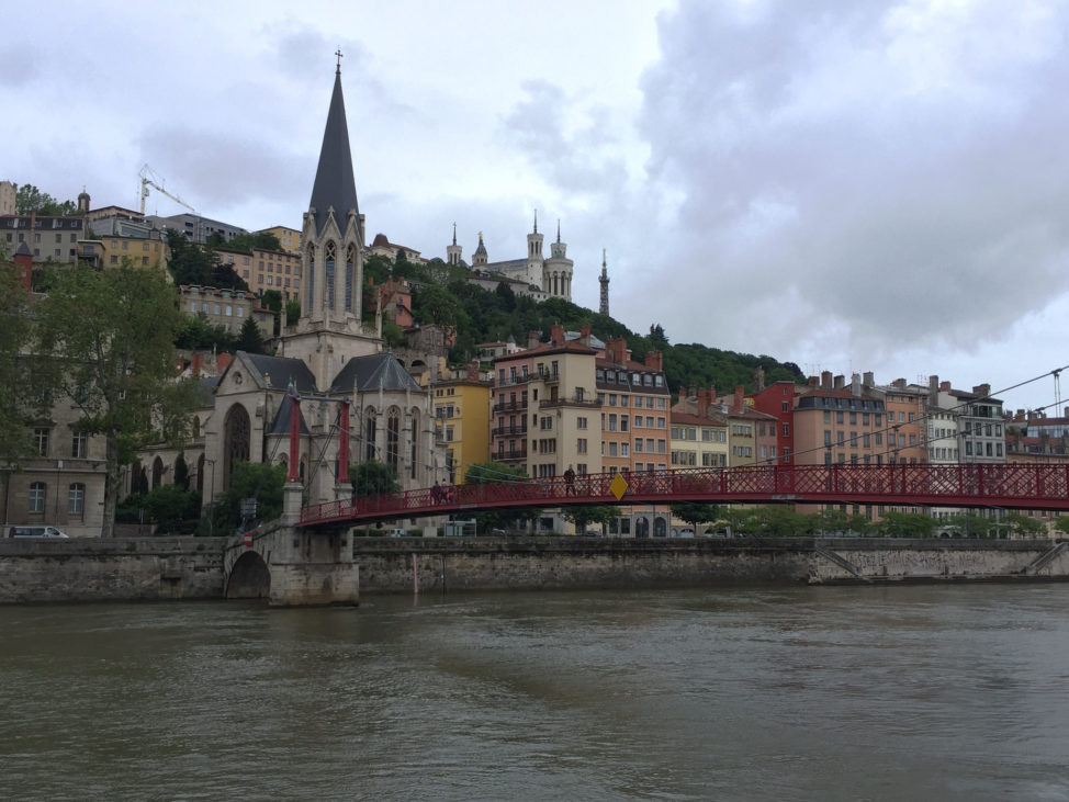 River Cruises: the city of Lyon along the Rhône River