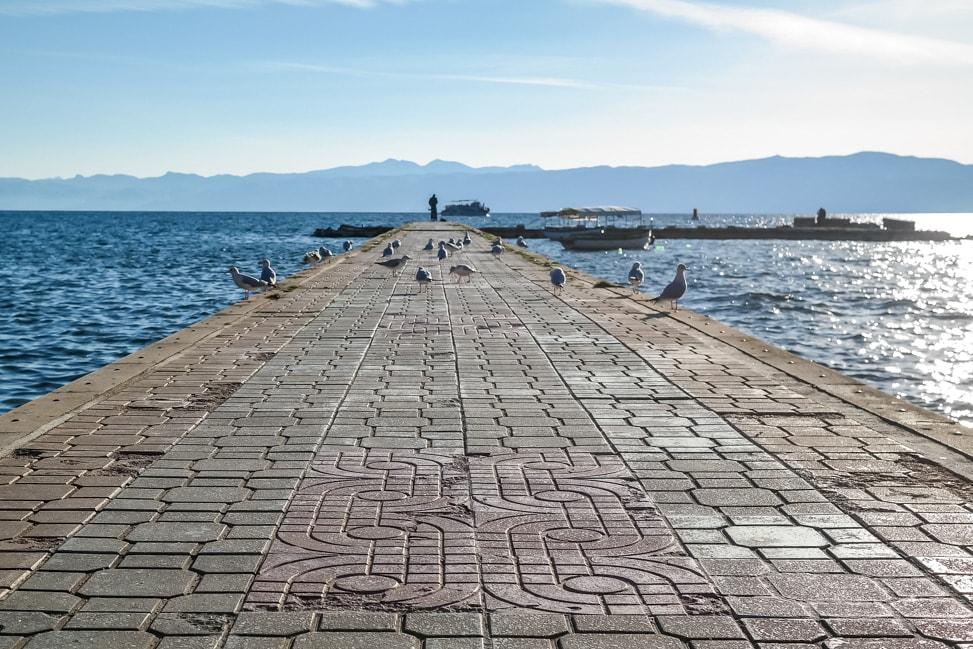 lake ohrid promenade