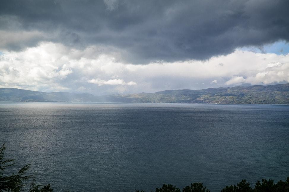 lake ohrid rain