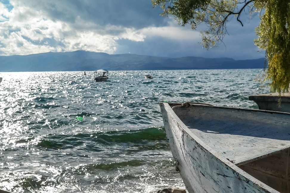 lake ohrid horizon