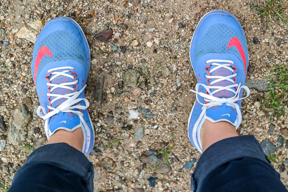Europe Road Trip: Julie's hiking shoes