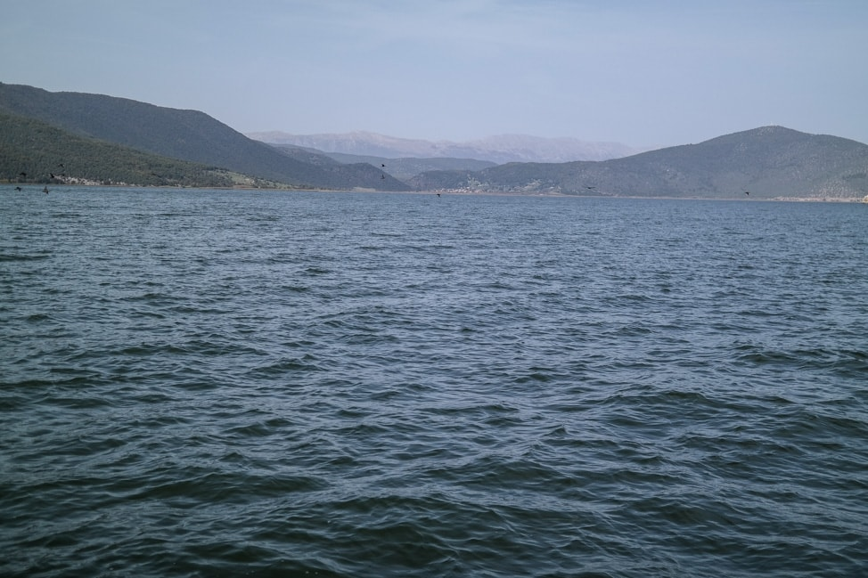 prespes national park lake