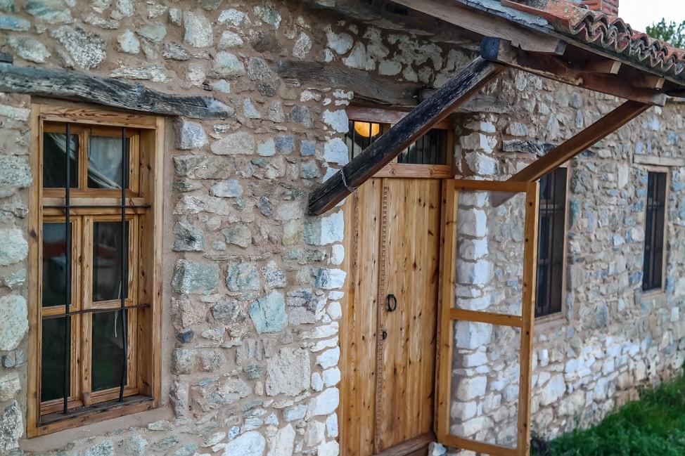 prespes national park cottage