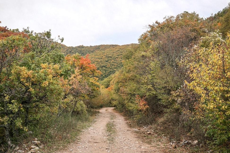 prespes national park hike