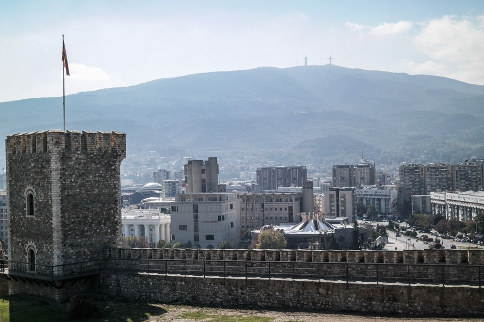 skopje macedonia kale fortress