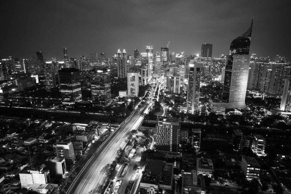 Visit Indonesia: the Jakarta skyline