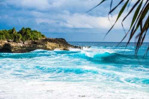Visit Indonesia: the rough Bali coast