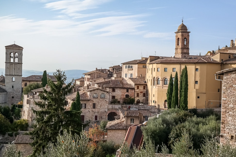 assisi italy landscape