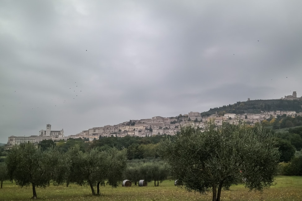 Assisi, Italy: A small Umbrian hillside town