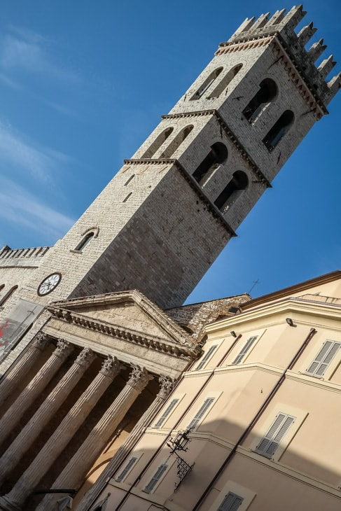 Assisi, Italy: more churches