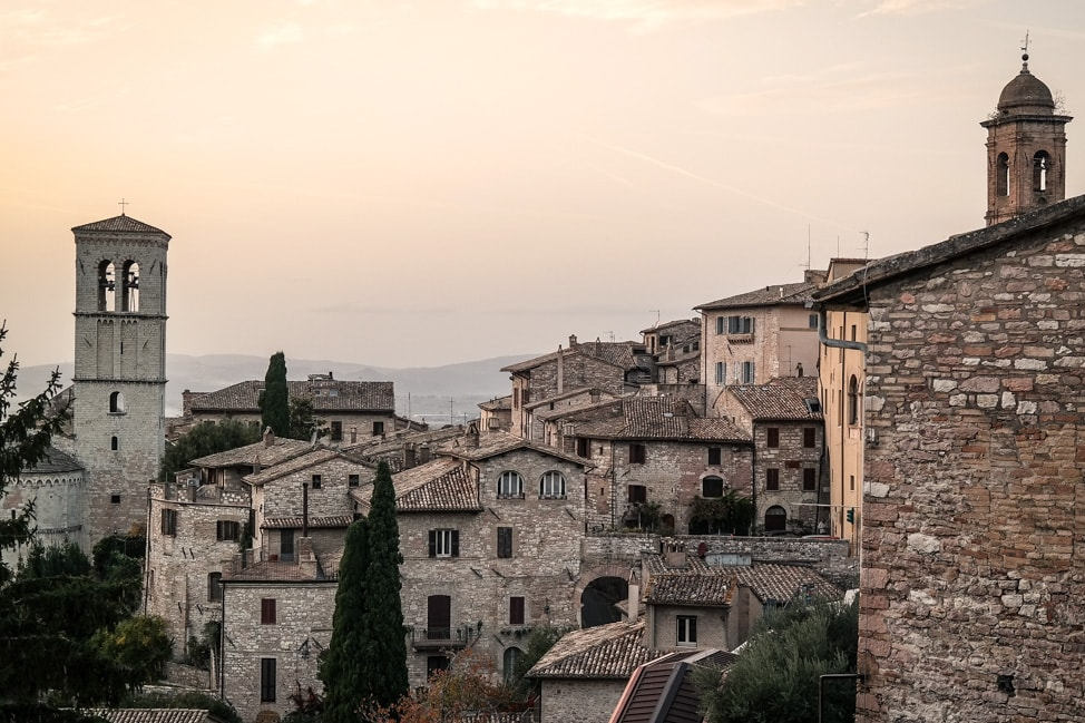 underrated italian destinations assisi landscape