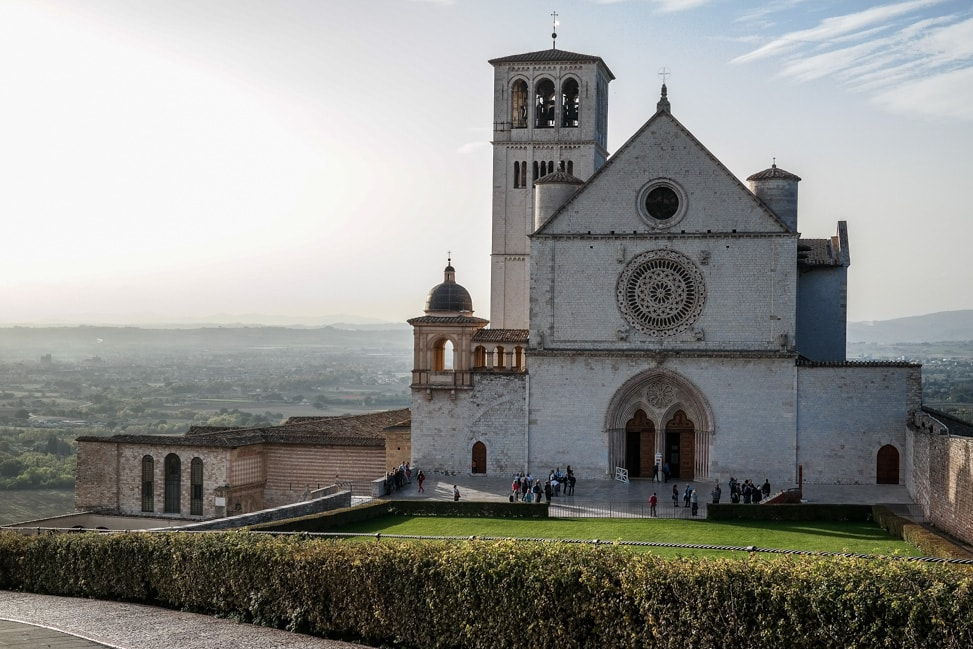 Assisi, italy: The Basilica of St. Francis