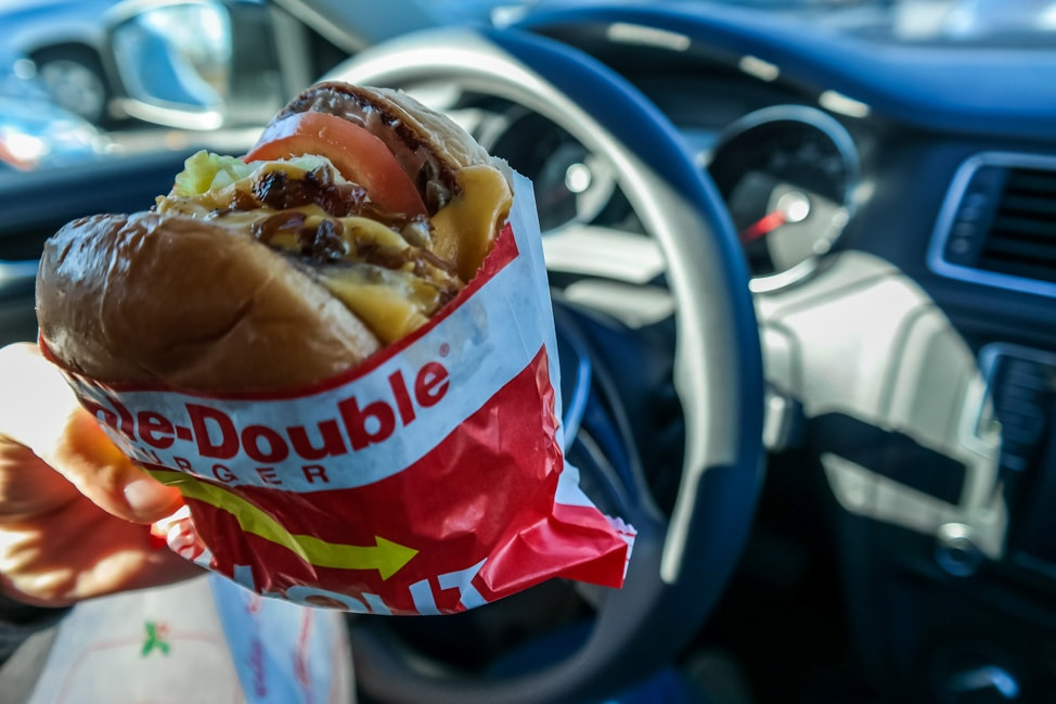 california road trip inandout