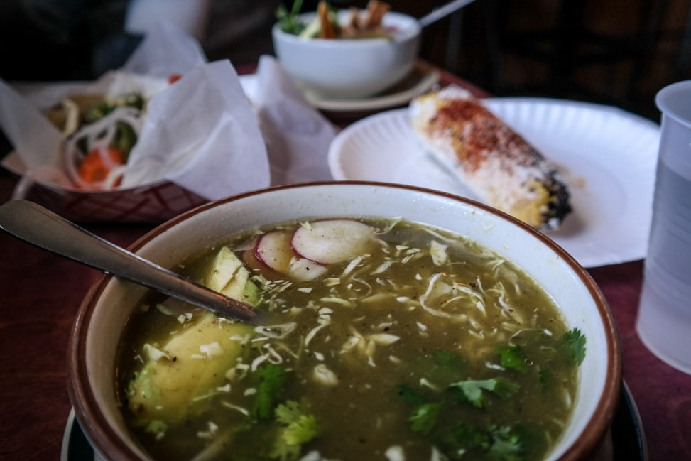 Plan a Road Trip: Our Nashville weekend included eating pozole at Mas Taocs
