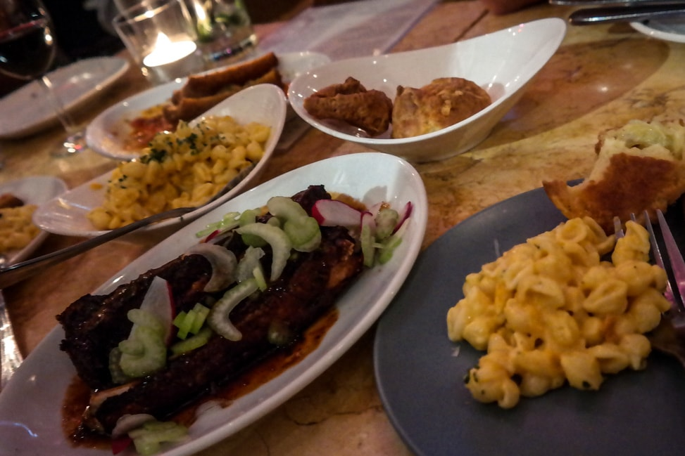 Downtown Oakland: the small plates at Mua Oakland