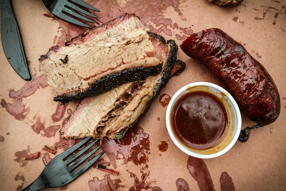 Plan a Road Trip: Austin city barbecue from La Barbecue food truck