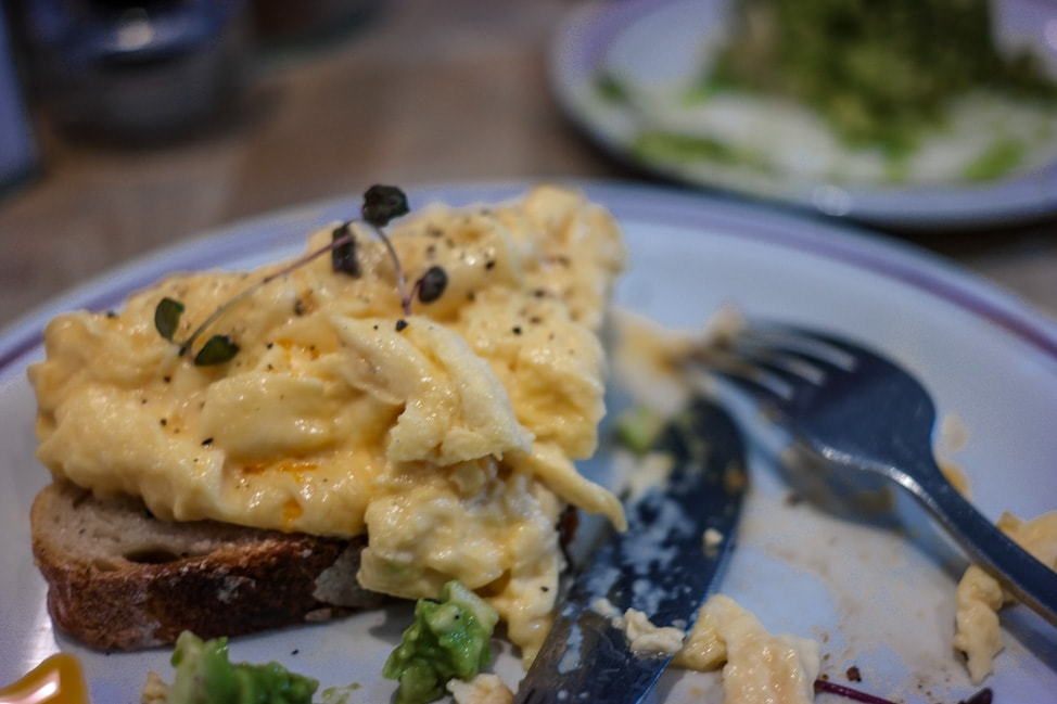 Things to Do in Bloomington, Indiana: perfectly cooked eggs at the Runcible Spoon