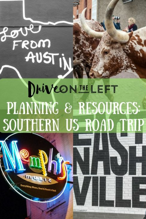 Planning & Resources-Southen US Road Trip-min