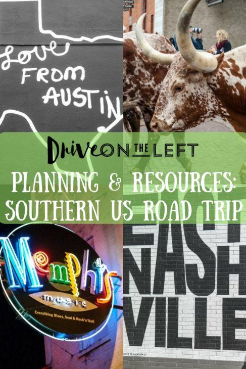 Planning & Resources-Southen US Road Trip-min