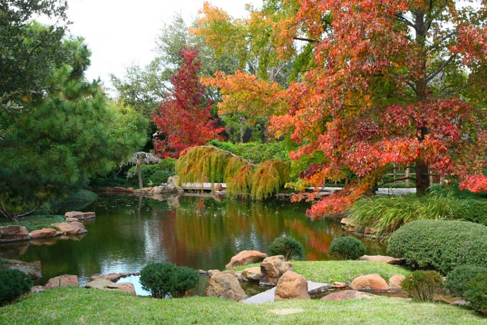 Visit Fort Worth: The Japanese Garden At The Fort Worth Botanic Gardens