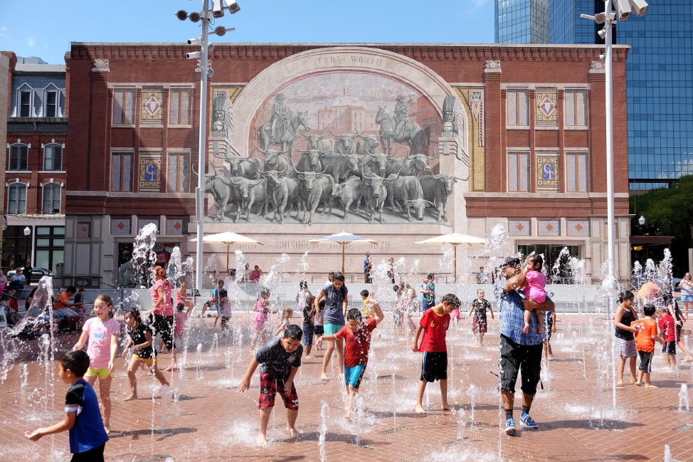 Visit Fort Worth: Sundance Square in downtown Fort Worth