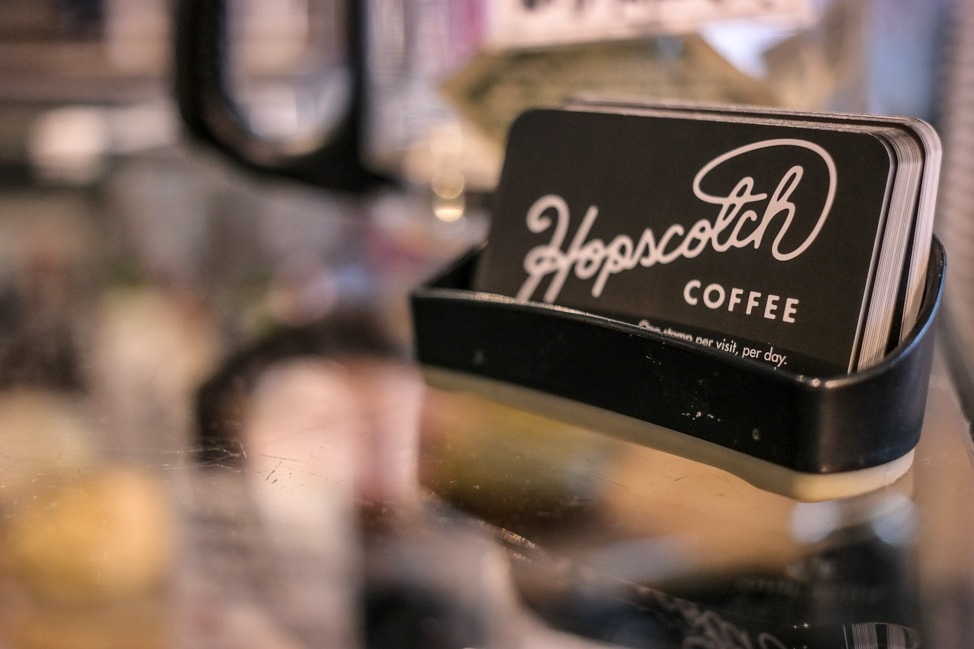 Things to Do in Bloomington, Indiana: grabbing a coffee along the B-Line at Hopscotch Coffee