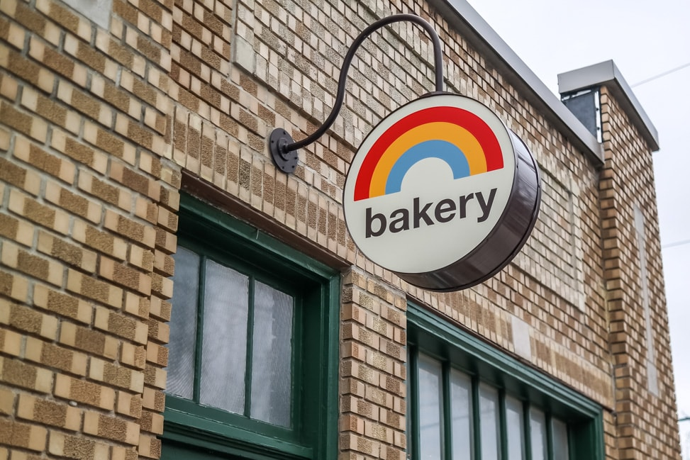 Things to Do in Bloomington, Indiana: The vegan Rainbow bakery