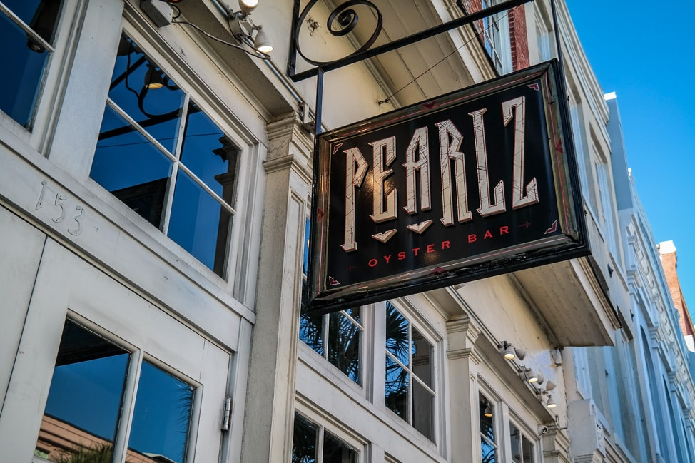Pearlz happy hour is one of the best Charleston happy hours for oysters