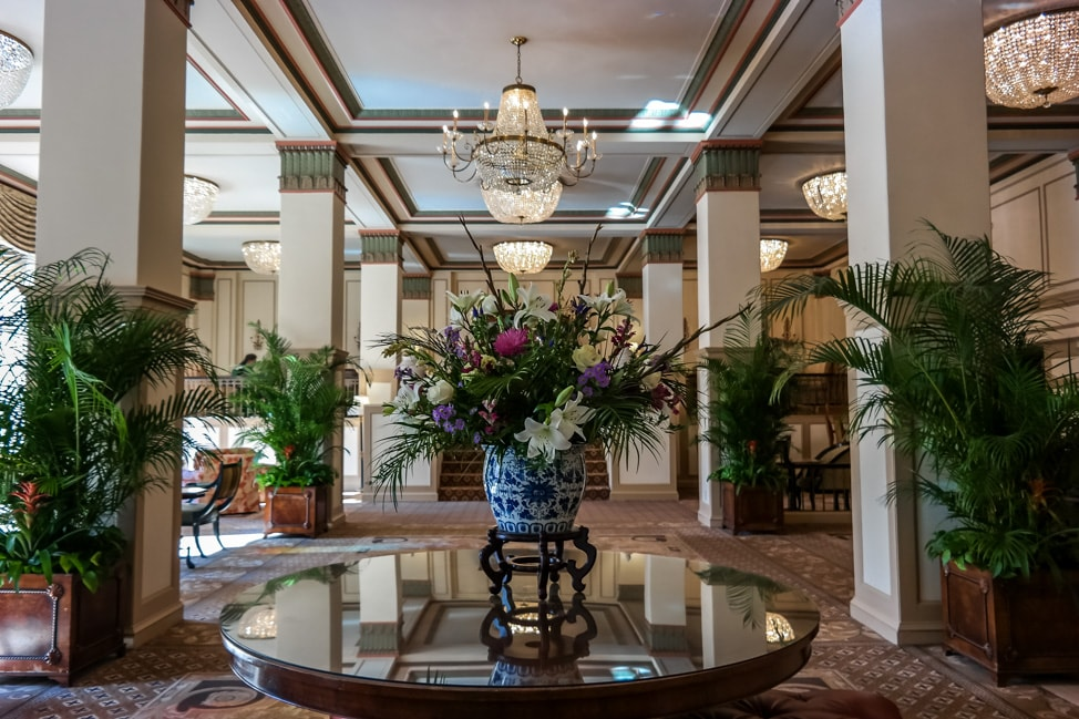 best things to do in charleston the lobby of the francis marion of hotel in charleston
