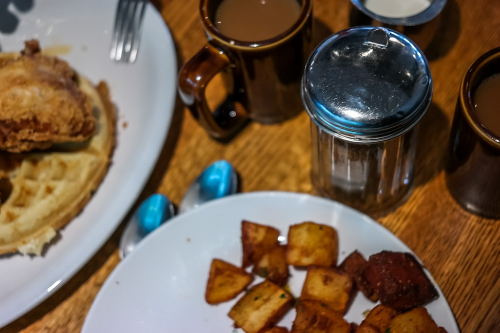 The best West Asheville breakfast: the spread at King Daddy's