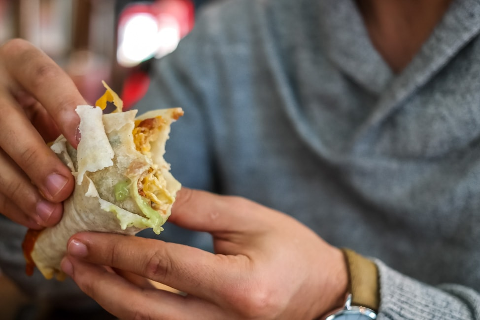 The best West Asheville breakfast: tacos from Taco Billy
