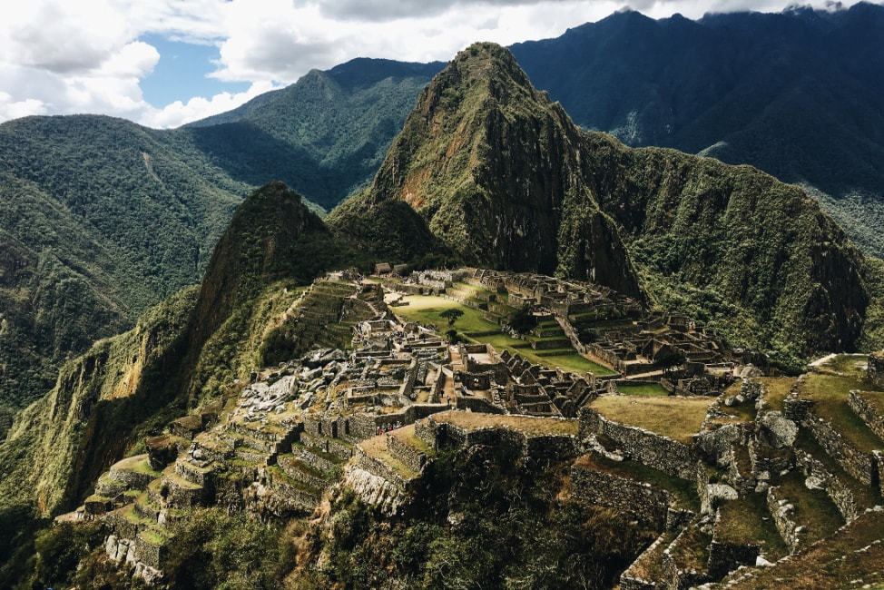 spring break ideas a gorgeous view of macchu picchu