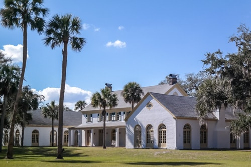 amelia island wedding the ribault club on st george island